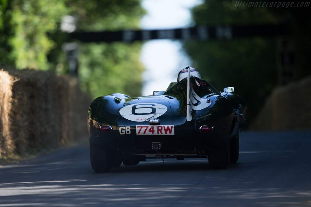 Jaguar D-Type Works Longnose - Chassis: XKD 505 - Entrant: Trade-Air ltd. - Driver: Andy Wallace  - 2015 Goodwood Festival of Speed