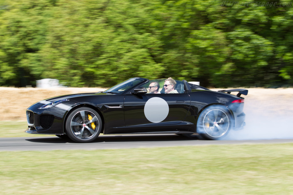 Jaguar Project 7    - 2015 Goodwood Festival of Speed