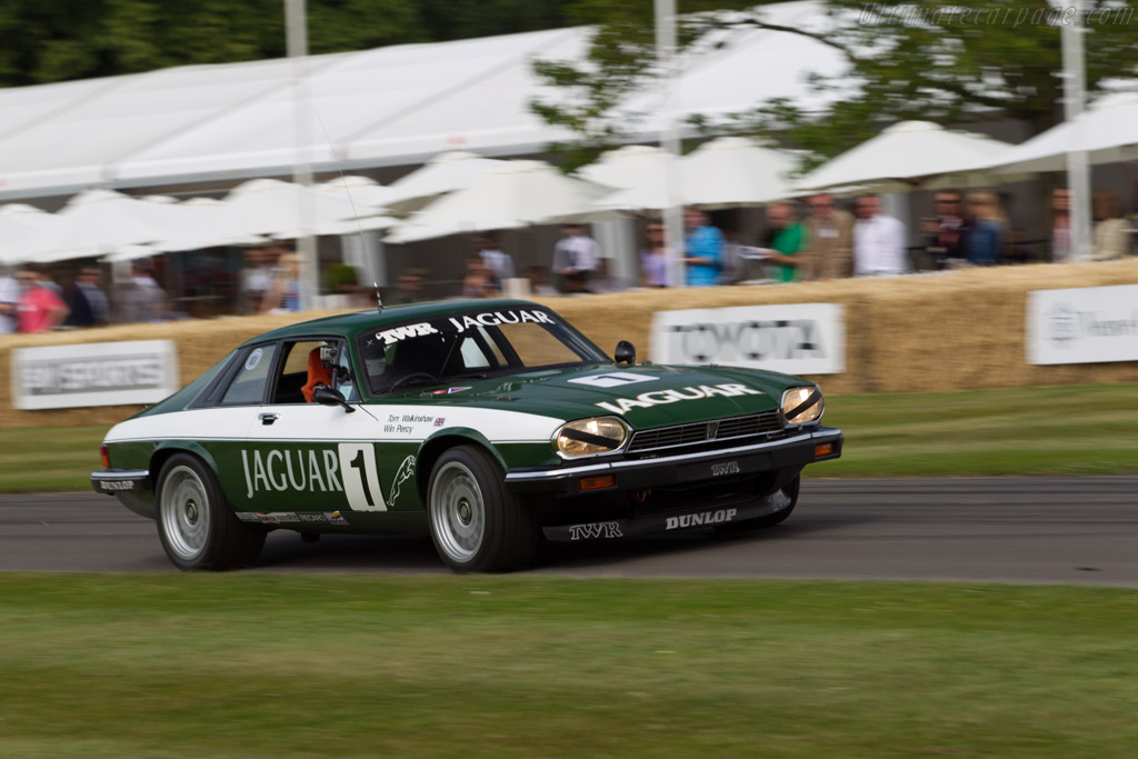 Jaguar XJ-S TWR - Chassis: TWR JC 84A007 - Entrant: Jaguar Daimler Heritage Trust - Driver: Jonathan Partridge  - 2015 Goodwood Festival of Speed
