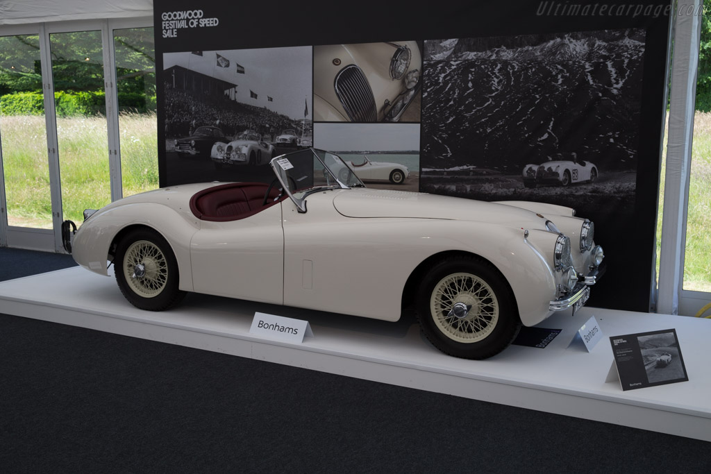 Jaguar XK120 Competition - Chassis: S661165   - 2015 Goodwood Festival of Speed