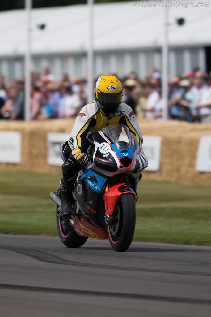 KR211V Honda  - Driver: Kenny Roberts  - 2015 Goodwood Festival of Speed