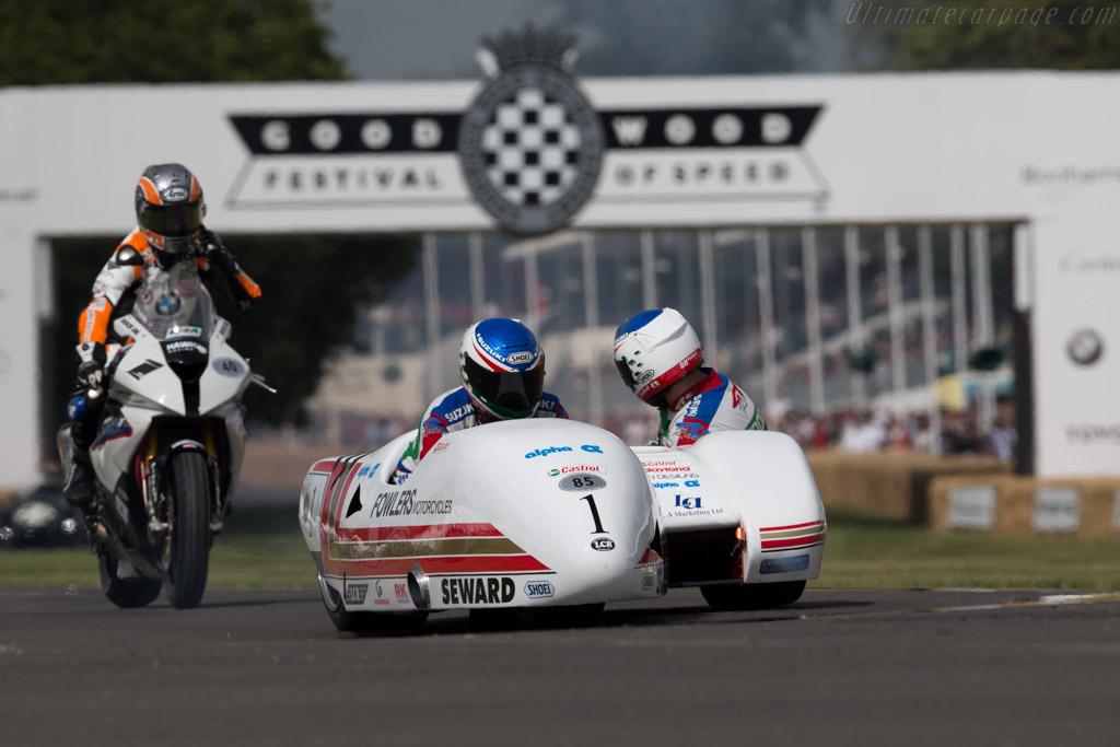 LCR TZ500 Yamaha  - Driver: Steve Webster  - 2015 Goodwood Festival of Speed