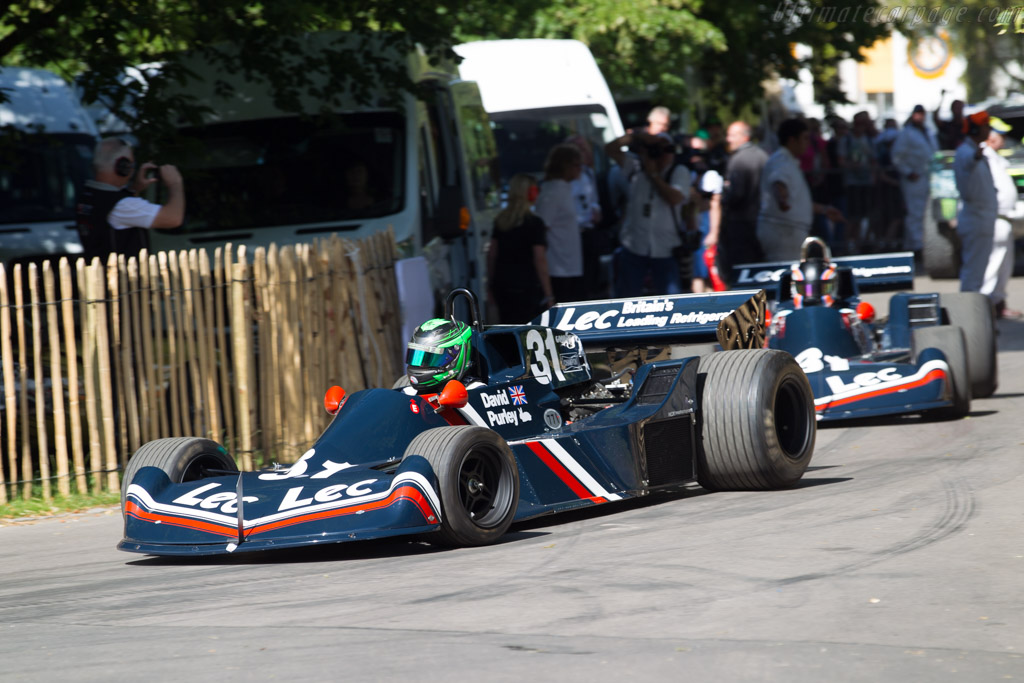 LEC CRP1 Cosworth - Chassis: CRP1-77-002 - Entrant: Charlie Birkett - Driver: James Littlejohn  - 2015 Goodwood Festival of Speed