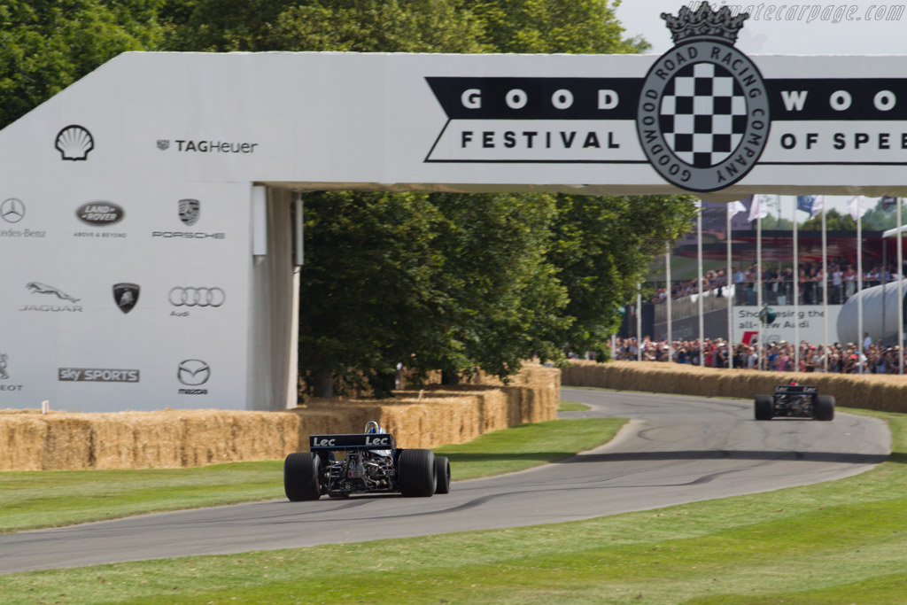 LEC CRP1 Cosworth - Chassis: CRP1-77-001 - Driver: Gary Wright  - 2015 Goodwood Festival of Speed