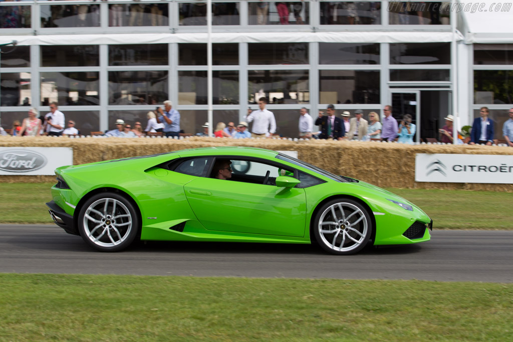 Lamborghini Huracan    - 2015 Goodwood Festival of Speed