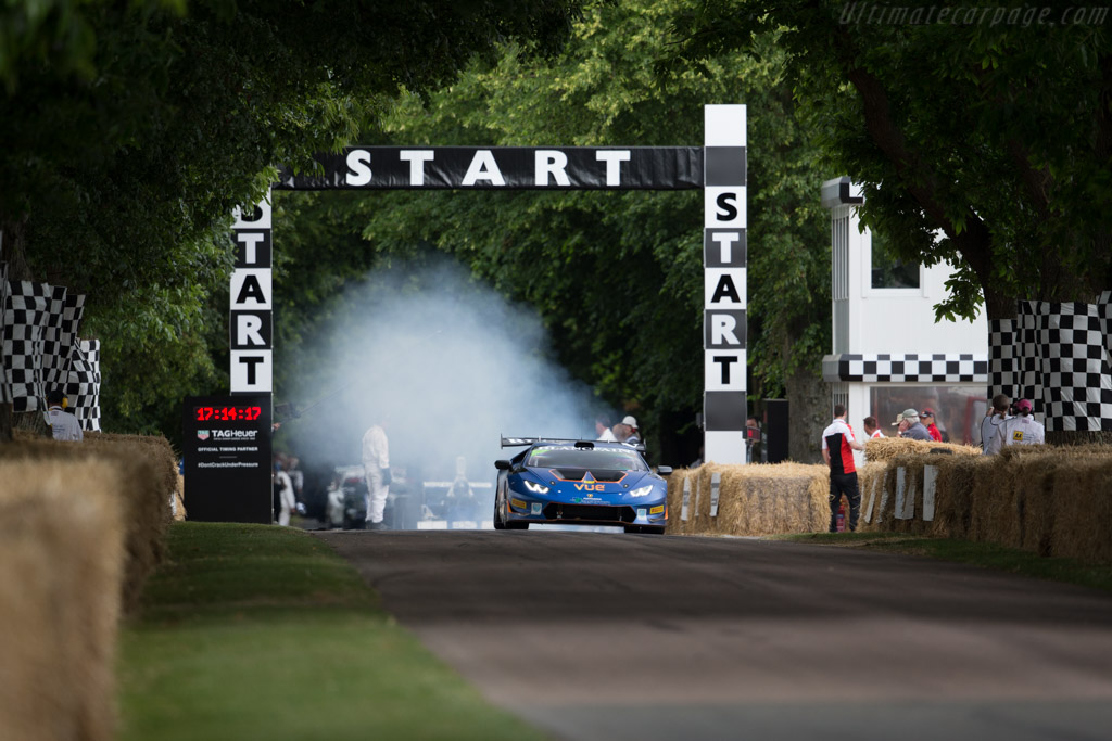 Lamborghini Huracan Super Trofeo - Chassis: ZHWEC1ZF5FLA02080 - Driver: Mike Edwards  - 2015 Goodwood Festival of Speed