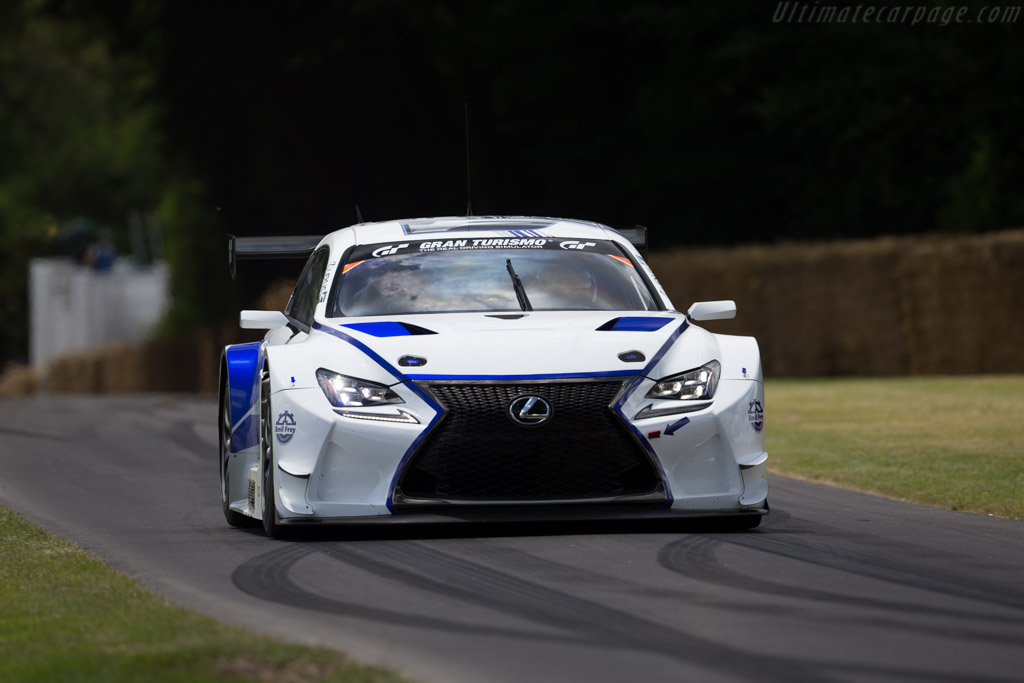Lexus RC-F GT3  - Entrant: Emil Frey AG - Driver: Uwe Kleem  - 2015 Goodwood Festival of Speed