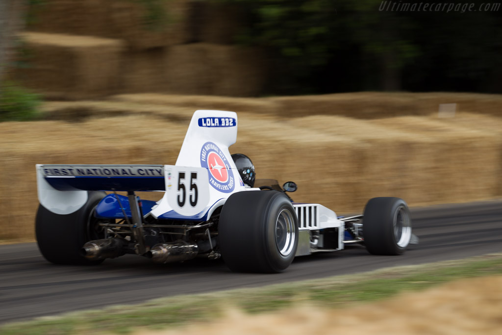 Lola T330/2 Chevrolet - Chassis: HU12 - Driver: Frank Lyons  - 2015 Goodwood Festival of Speed