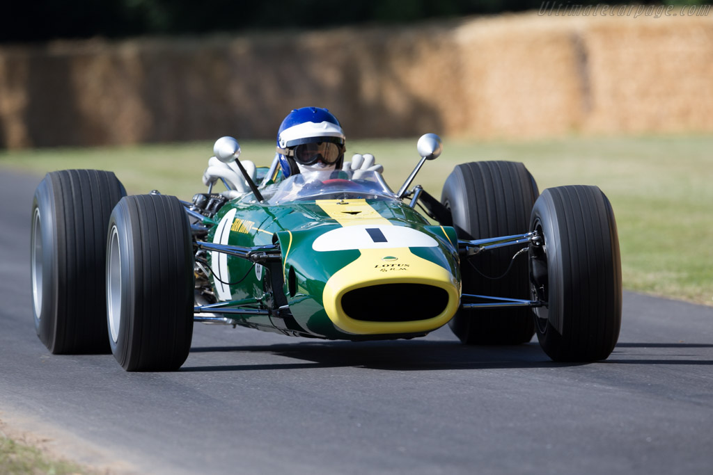 Lotus 43 BRM - Chassis: 43/1 - Driver: Andy Middlehurst  - 2015 Goodwood Festival of Speed