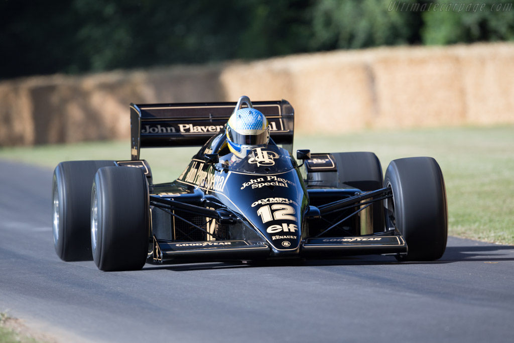 Lotus 97T Renault - Chassis: 97T/2 - Entrant: Classic Team Lotus - Driver: Chris Dinnage  - 2015 Goodwood Festival of Speed