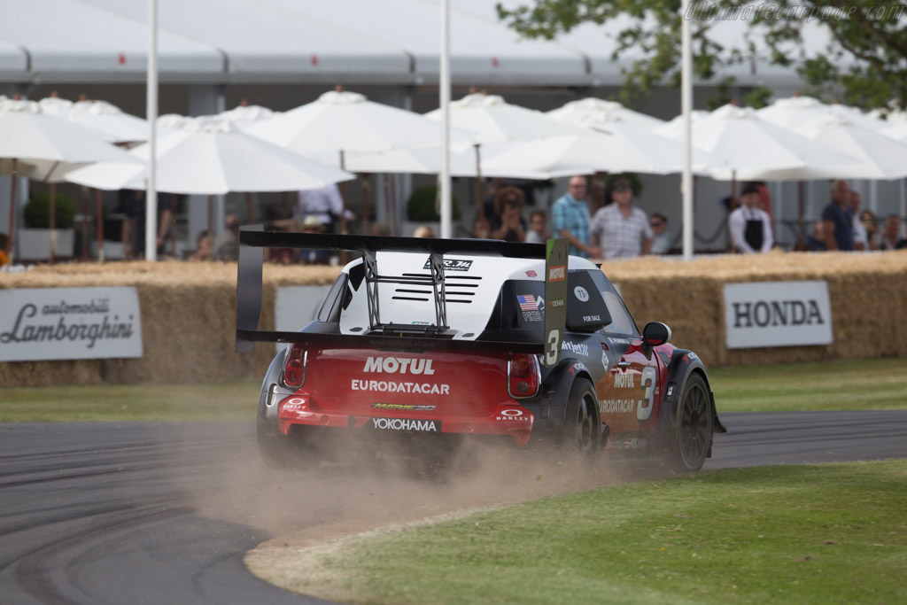 MINI Pikes Peak  - Driver: Jean-Philippe Dayraut  - 2015 Goodwood Festival of Speed