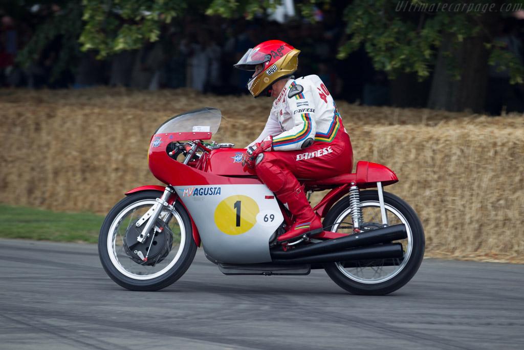 MV Agusta 500  - Driver: Giacomo Agostini  - 2015 Goodwood Festival of Speed