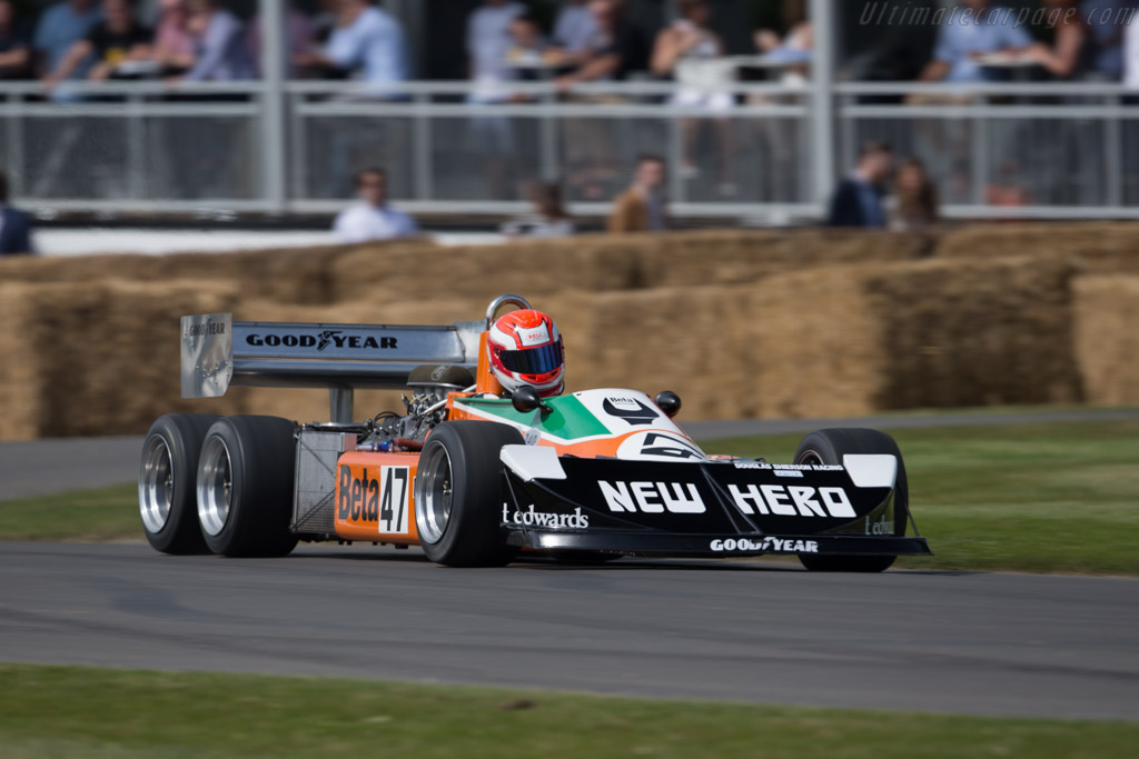 March 2-4-0 Cosworth  - Entrant: Anthony Smith - Driver: Jeremy Smith  - 2015 Goodwood Festival of Speed