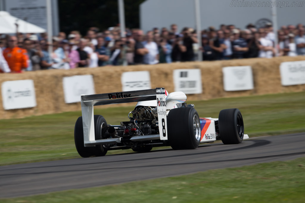 March 782 BMW - Chassis: 782-S1 - Entrant: BMW Group - Driver: Johny Cecotto  - 2015 Goodwood Festival of Speed