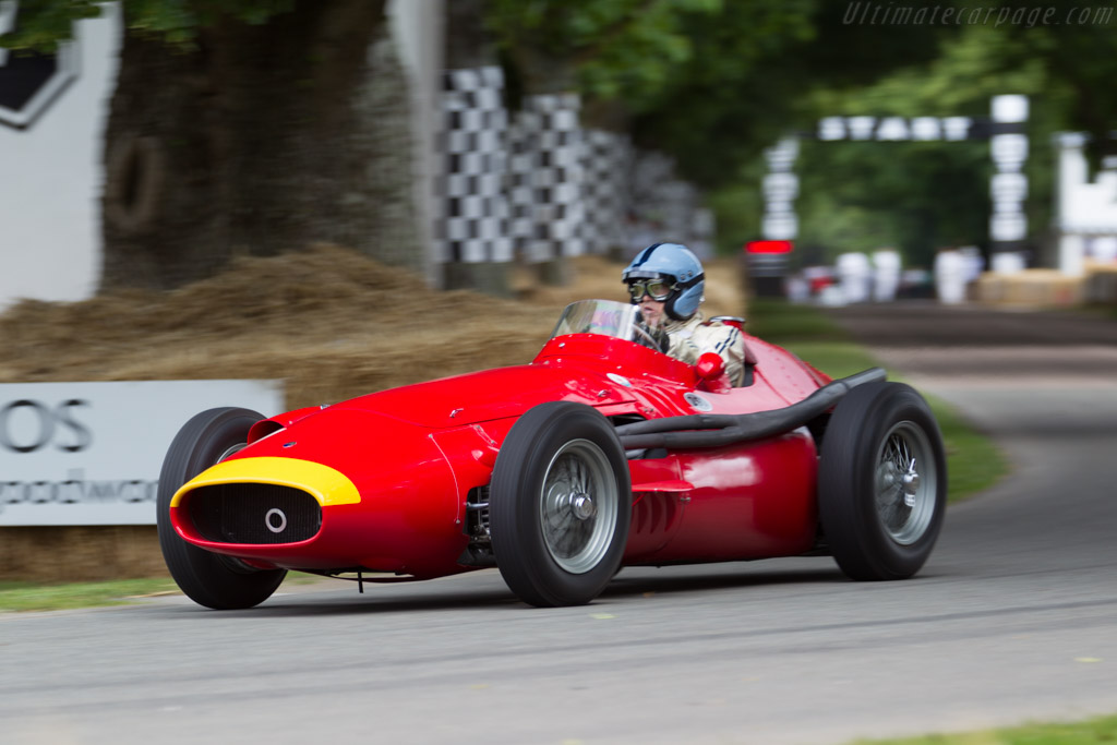 Maserati 250F Lightweight - Chassis: 2529 - Driver: Lukas Hüni  - 2015 Goodwood Festival of Speed