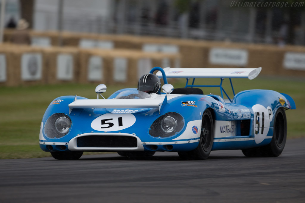 Matra MS650 - Chassis: MS650/01 - Entrant: Omnium Ventures - Driver: Andy Willis  - 2015 Goodwood Festival of Speed