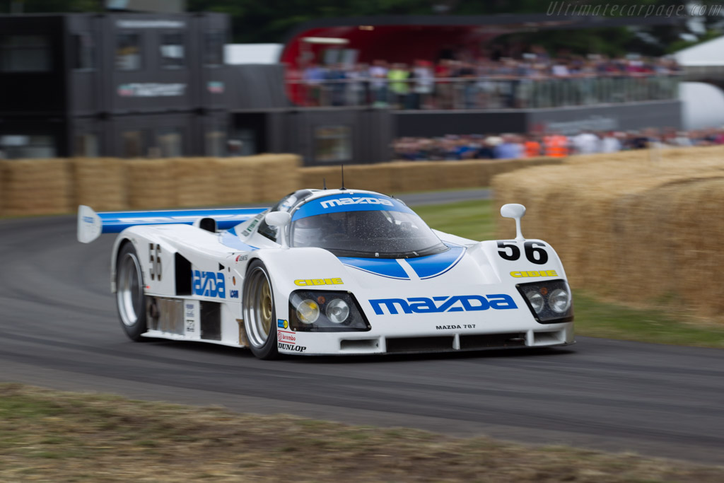 Mazda 787 - Chassis: 787 - 002 - Entrant: Mazda Europe  - 2015 Goodwood Festival of Speed