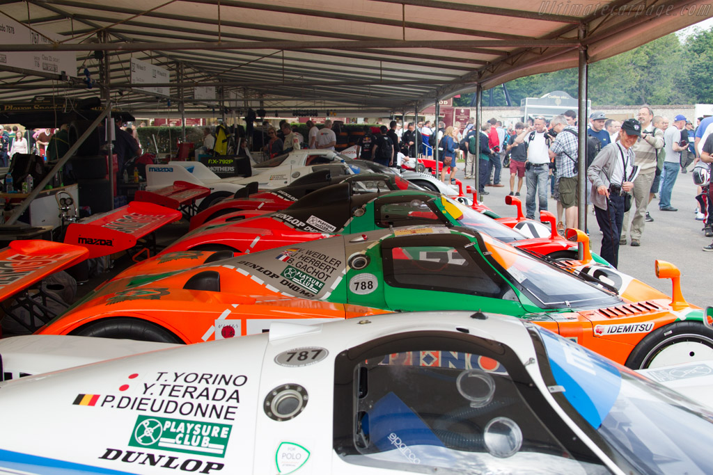 Mazda 787B - Chassis: 787B - 002 - Entrant: Mazda Europe  - 2015 Goodwood Festival of Speed