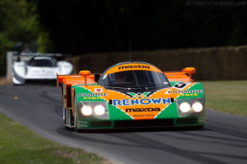 Mazda 787B - Chassis: 787B - 002 - Entrant: Mazda Europe - Driver: Pierre Dieudonné - 2015 Goodwood Festival of Speed