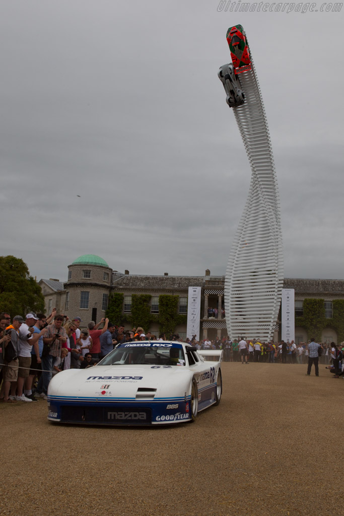 Mazda RX-7 GTO - Chassis: GTO 001 - Entrant: Mazda Europe - Driver: Jeremy Barnes  - 2015 Goodwood Festival of Speed