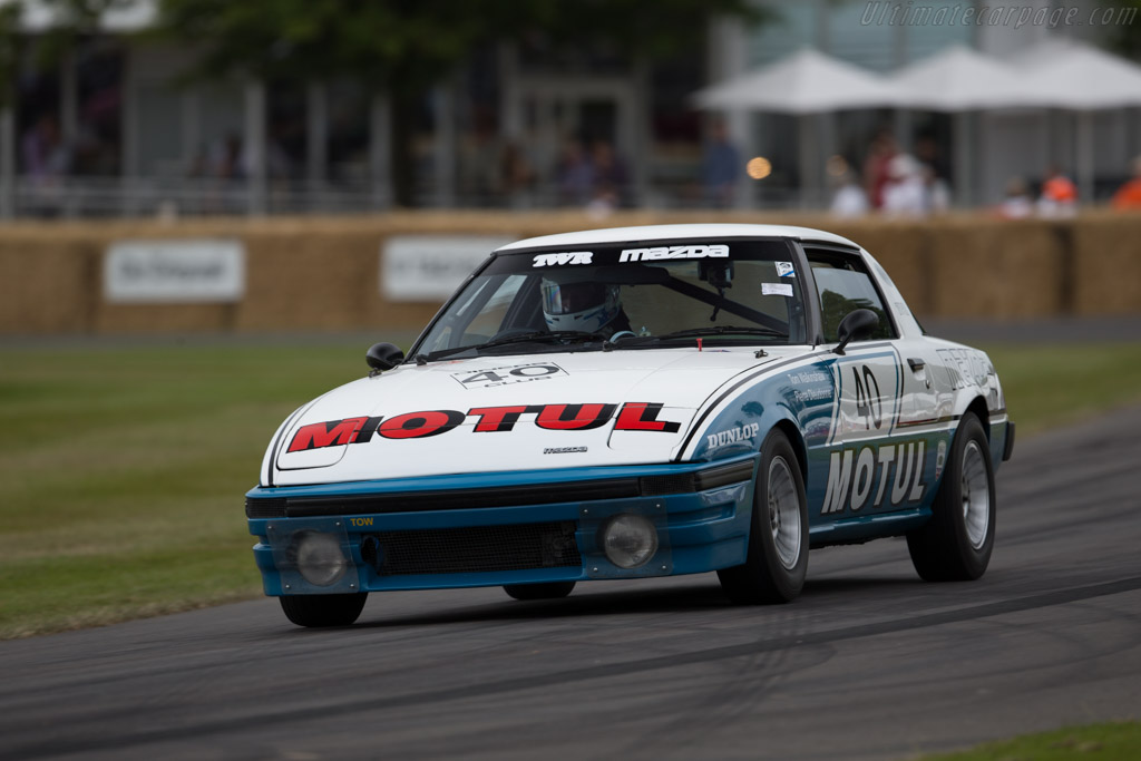 Mazda Rx 7 2017 >> Mazda RX-7 TWR - Entrant: Kevin Doyle - Driver: Pierre Dieudonné - 2015 Goodwood Festival of Speed