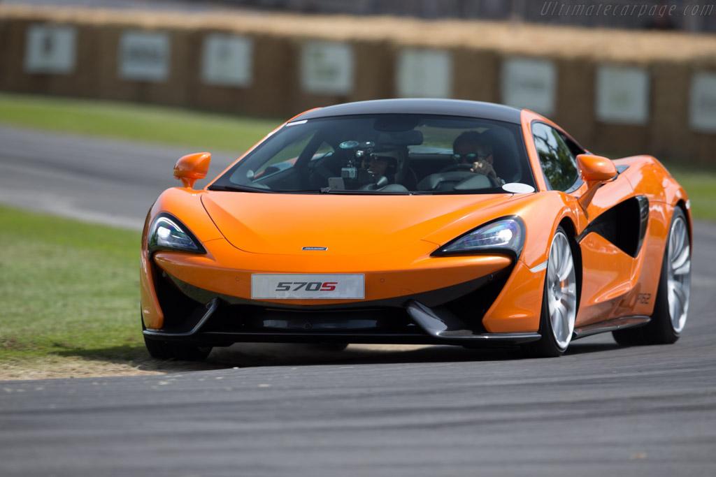 McLaren 570S    - 2015 Goodwood Festival of Speed
