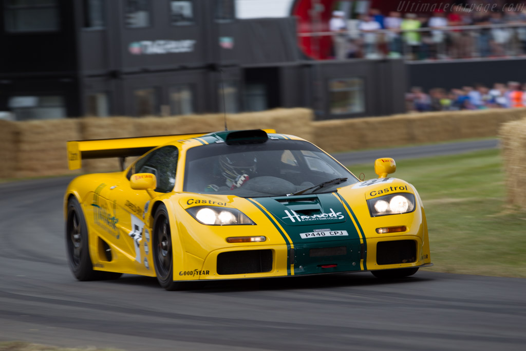 McLaren F1 GTR - Chassis: 06R - Driver: David Clark  - 2015 Goodwood Festival of Speed