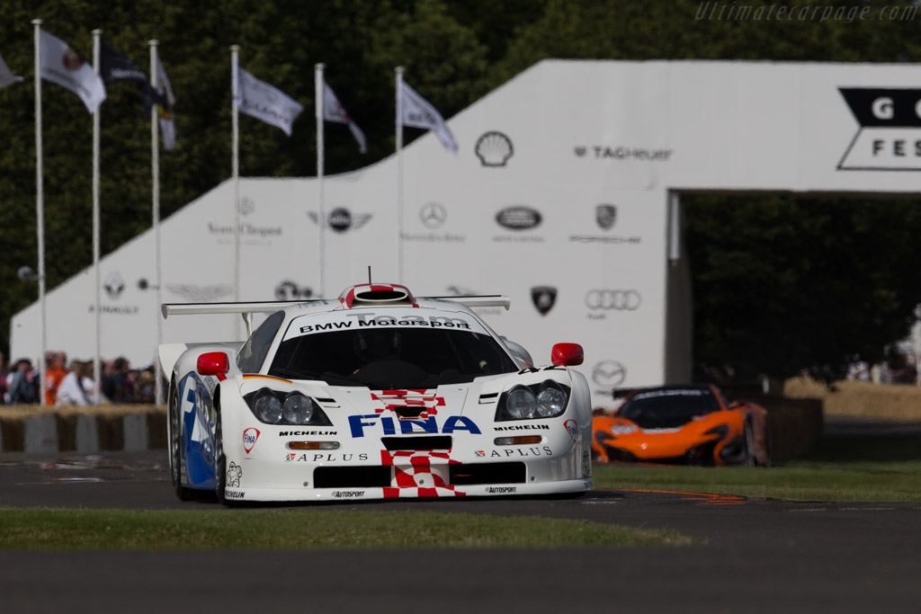 McLaren F1 GTR Longtail - Chassis: 26R - Entrant: BMW Group Classic - Driver: Steve Soper  - 2015 Goodwood Festival of Speed