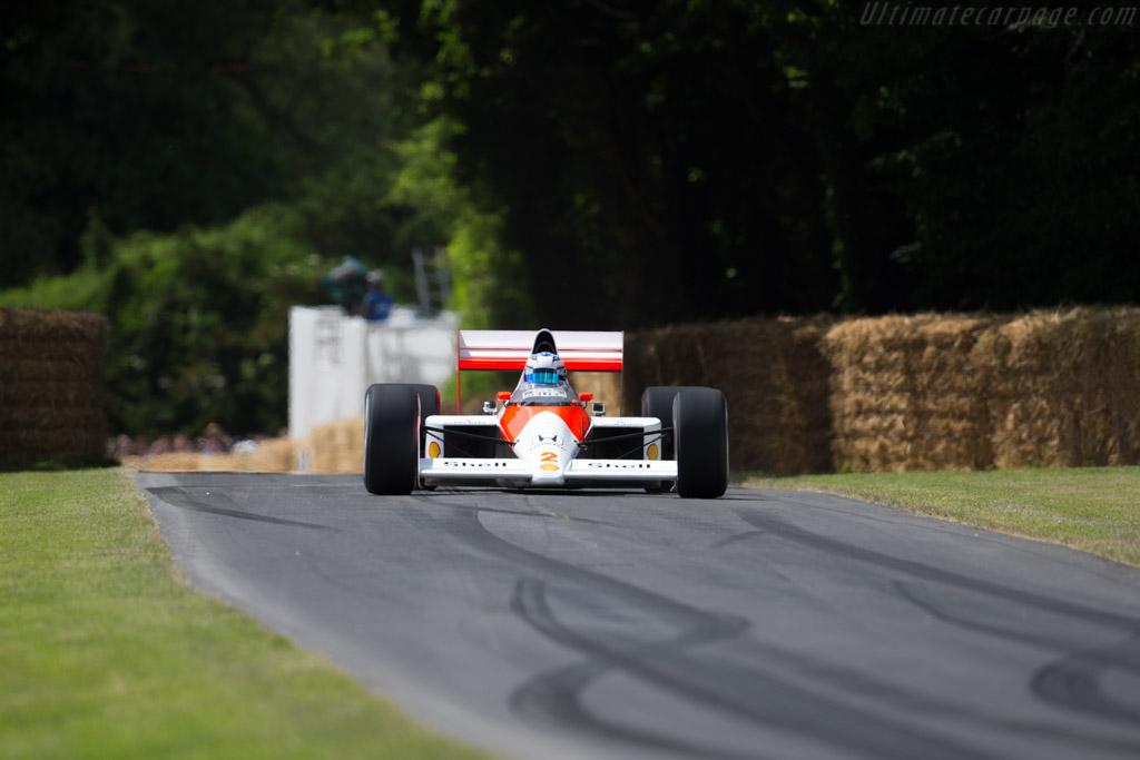 McLaren MP4/5 Honda - Chassis: MP4/5-5 - Entrant: McLaren Racing ltd. - Driver: Nyck de Vries  - 2015 Goodwood Festival of Speed