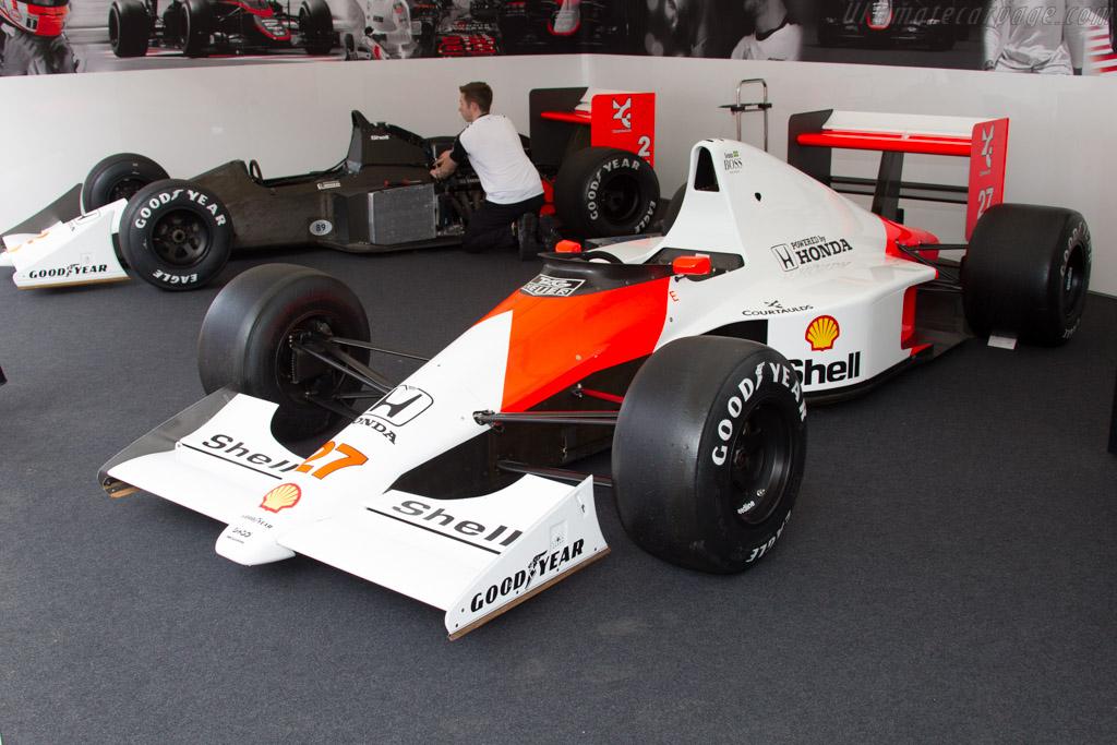 McLaren MP4/5B Honda - Chassis: MP4/5B-7 - Entrant: McLaren Racing ltd.  - 2015 Goodwood Festival of Speed