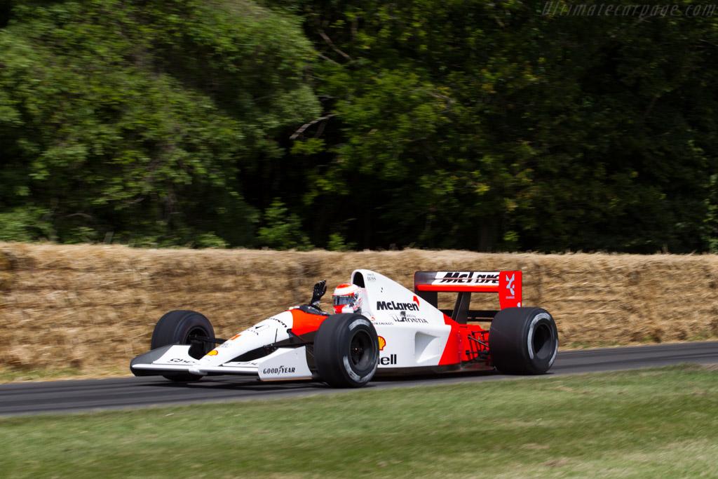 McLaren MP4/6 Honda - Chassis: MP4/6-10 - Entrant: McLaren Racing ltd. - Driver: Jenson Button  - 2015 Goodwood Festival of Speed