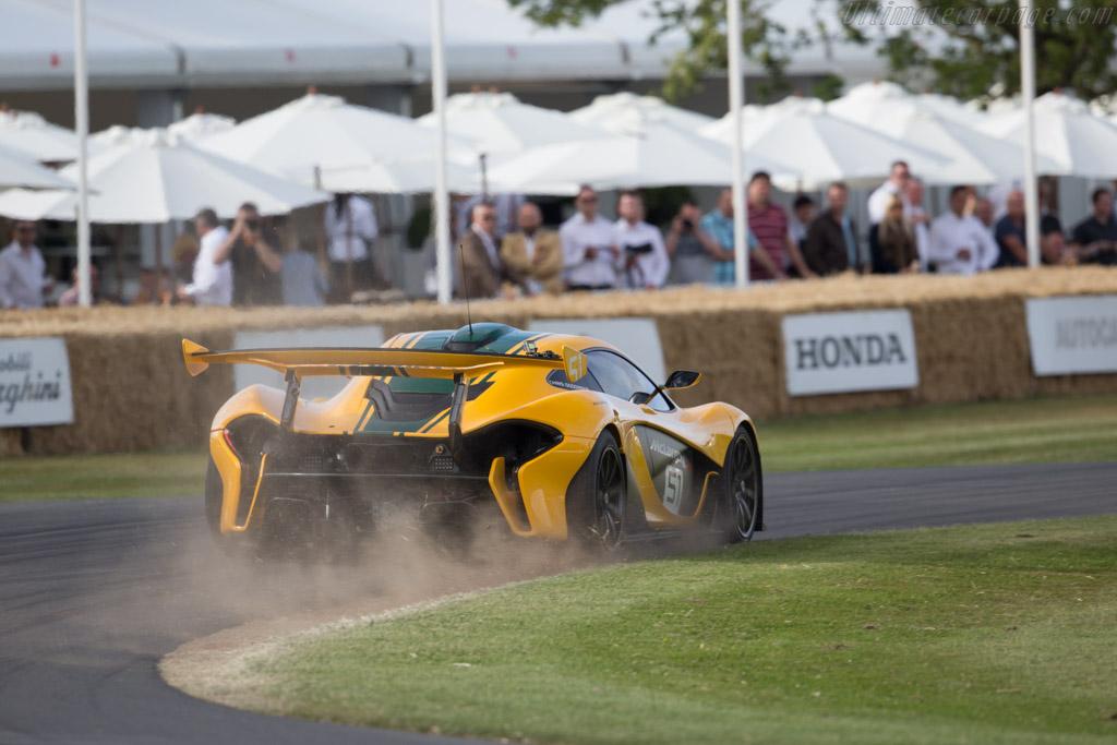 McLaren P1 GTR - Chassis: P1 XP7 GTR   - 2015 Goodwood Festival of Speed