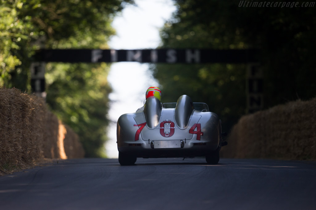 Mercedes-Benz 300 SLR - Chassis: 00002/55 - Entrant: Mercedes-Benz Classic - Driver: Toto Wolff  - 2015 Goodwood Festival of Speed