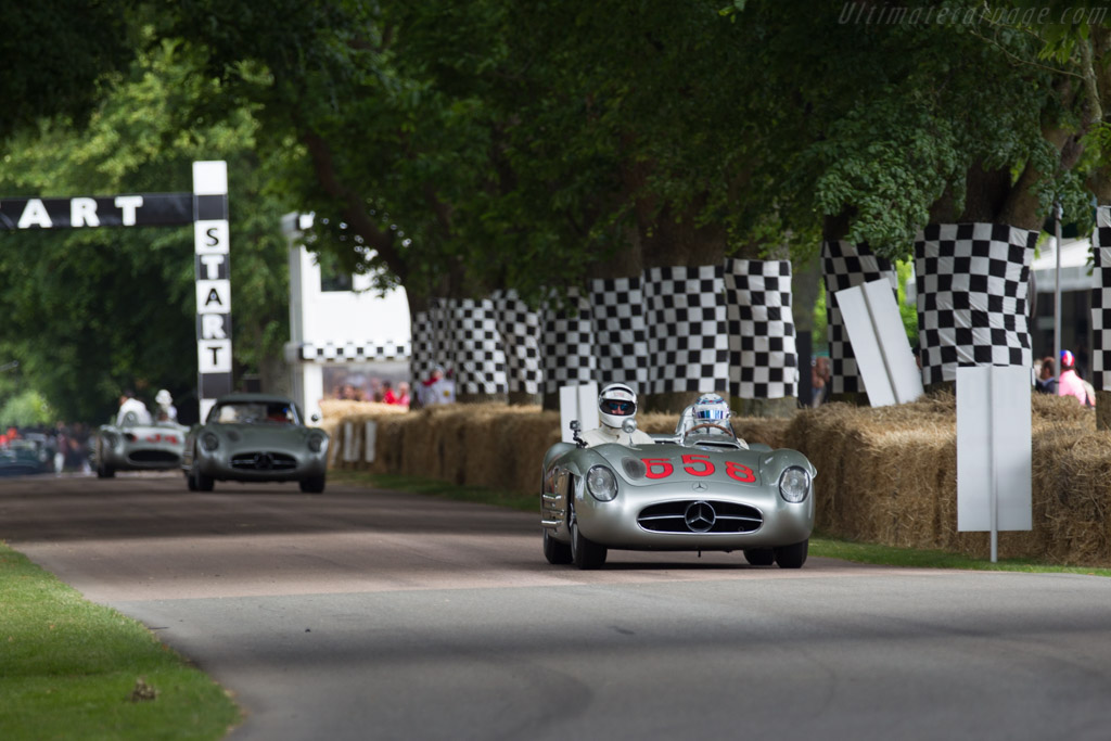 Mercedes-Benz 300 SLR - Chassis: 00010/55 - Entrant: Mercedes-Benz Classic - Driver: Suzie Wolff  - 2015 Goodwood Festival of Speed