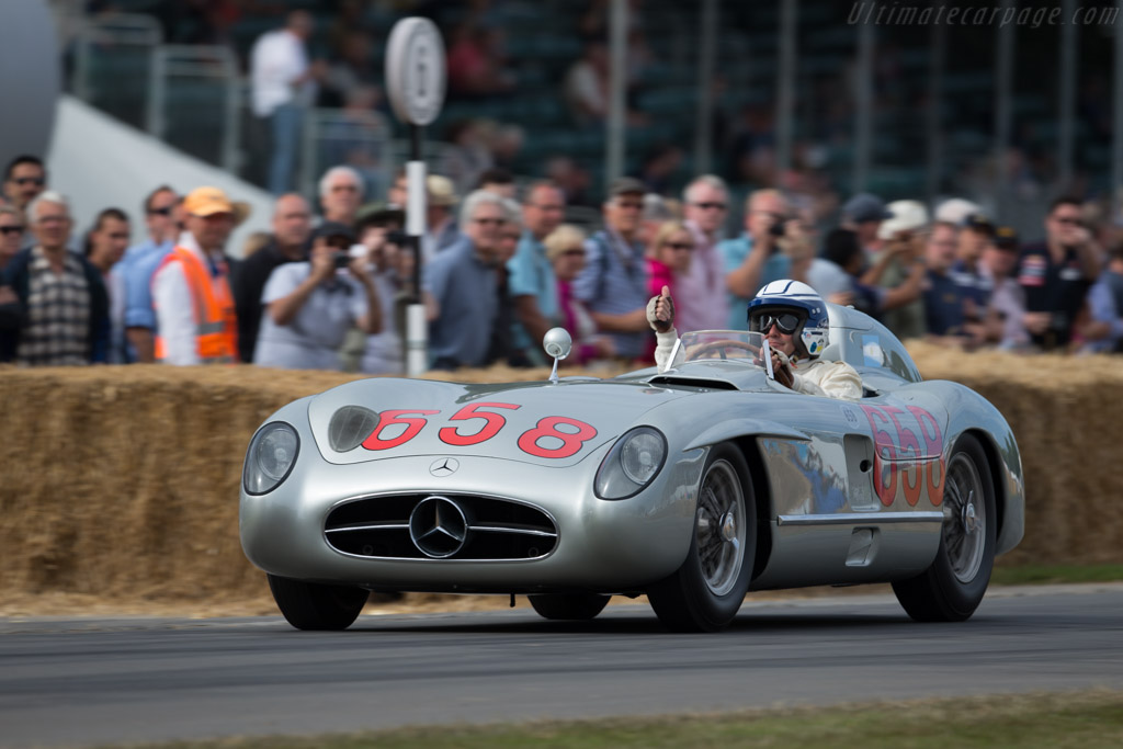 Mercedes-Benz 300 SLR - Chassis: 00010/55 - Entrant: Mercedes-Benz Classic - Driver: Jochen Mass  - 2015 Goodwood Festival of Speed