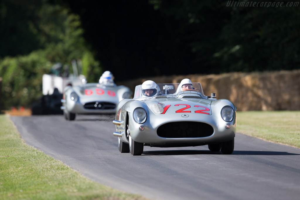 Mercedes-Benz 300 SLR - Chassis: 00004/55 - Entrant: Mercedes-Benz Classic - Driver: Sir Stirling Moss  - 2015 Goodwood Festival of Speed