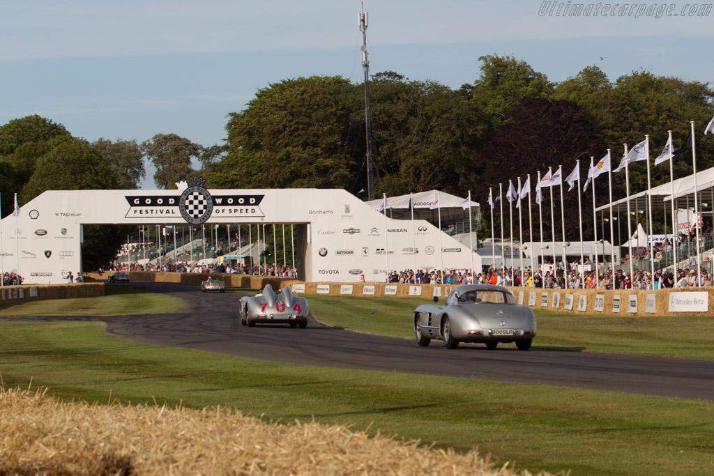 Mercedes-Benz 300 SLR Uhlenhaut Coupe - Chassis: 00008/55 - Entrant: Mercedes-Benz Classic - Driver: Karl Wendlinger  - 2015 Goodwood Festival of Speed