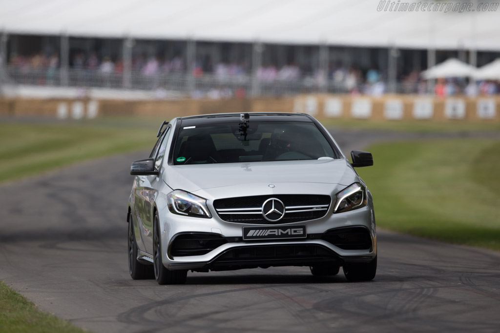 Mercedes-Benz A45 AMG    - 2015 Goodwood Festival of Speed