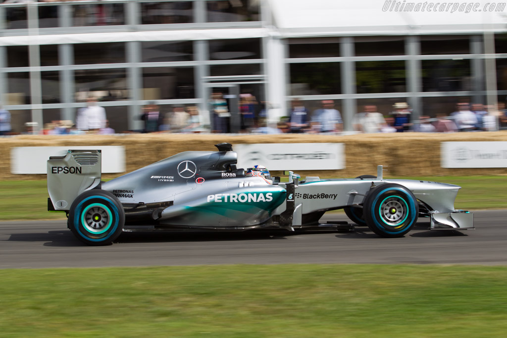 Mercedes-Benz W04  - Entrant: Mercedes GP ltd - Driver: Alastair Davidson  - 2015 Goodwood Festival of Speed