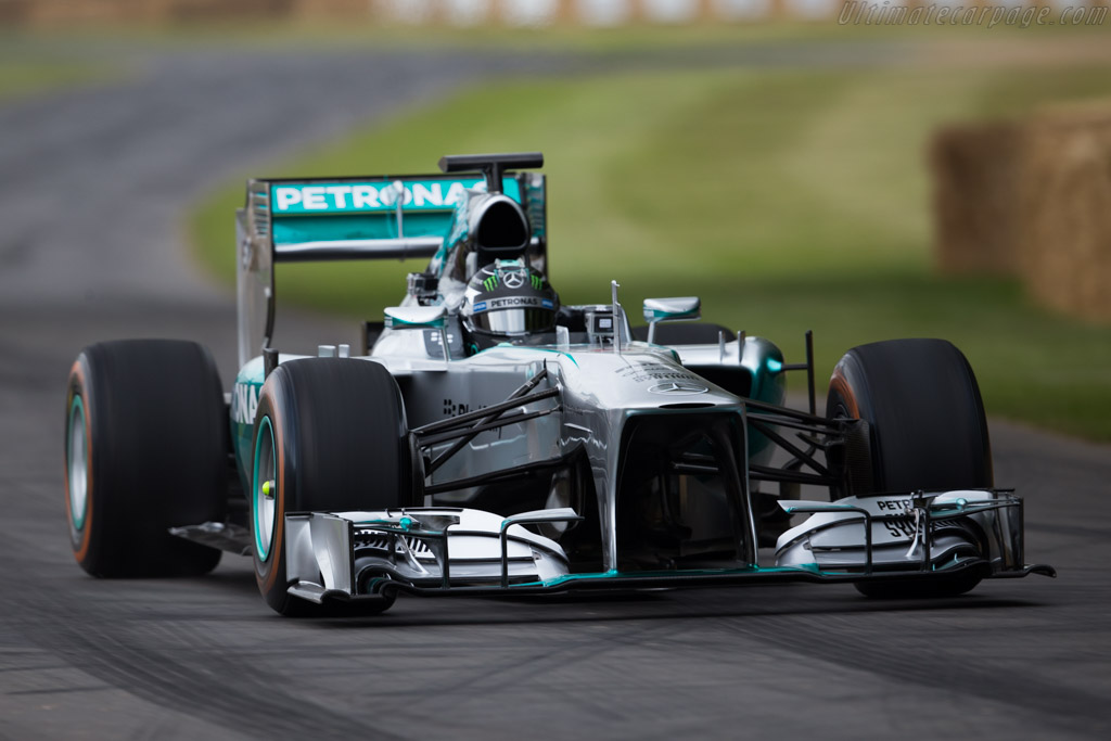 Mercedes-Benz W04  - Entrant: Mercedes GP ltd - Driver: Nico Rosberg  - 2015 Goodwood Festival of Speed
