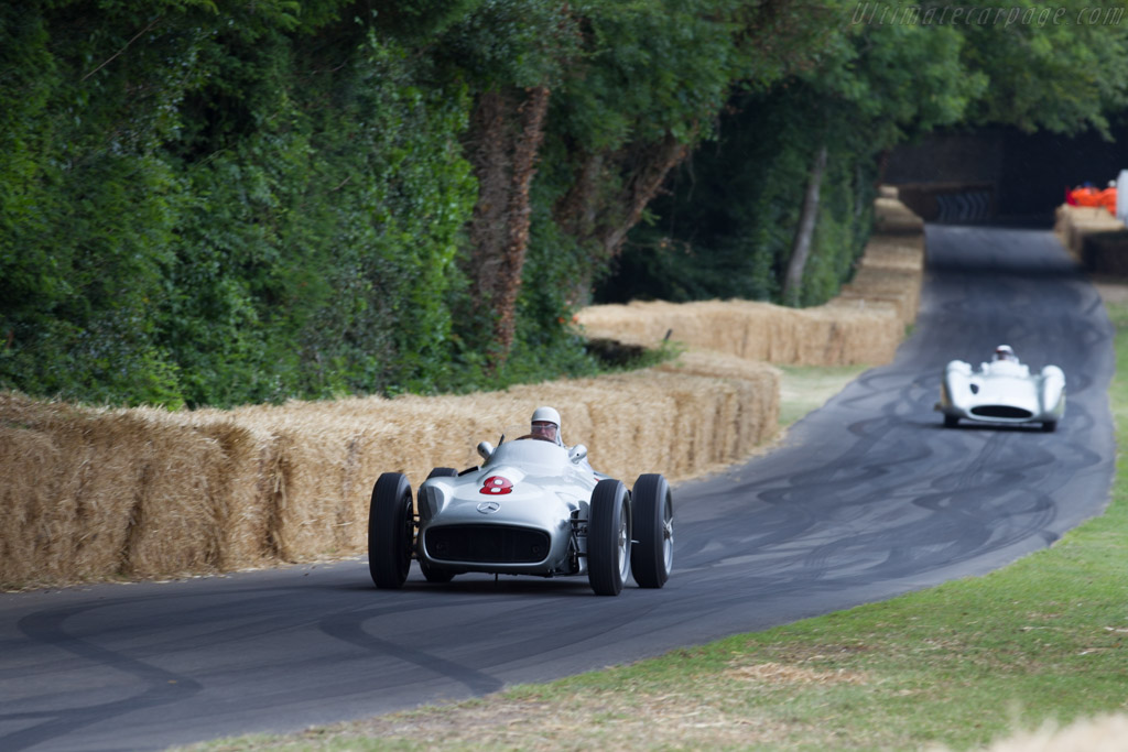 Mercedes-Benz W196 - Chassis: 000 13/55 - Entrant: Mercedes-Benz Classic - Driver: Sir Stirling Moss  - 2015 Goodwood Festival of Speed