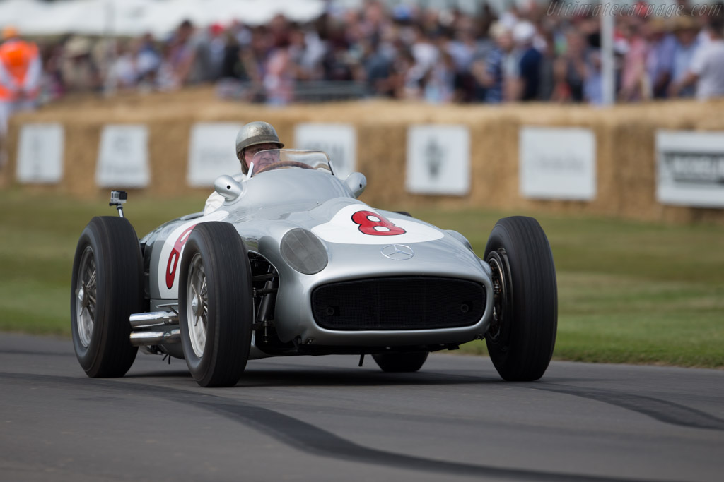 Mercedes-Benz W196 - Chassis: 000 13/55 - Entrant: Mercedes-Benz Classic - Driver: Hans Herrmann  - 2015 Goodwood Festival of Speed