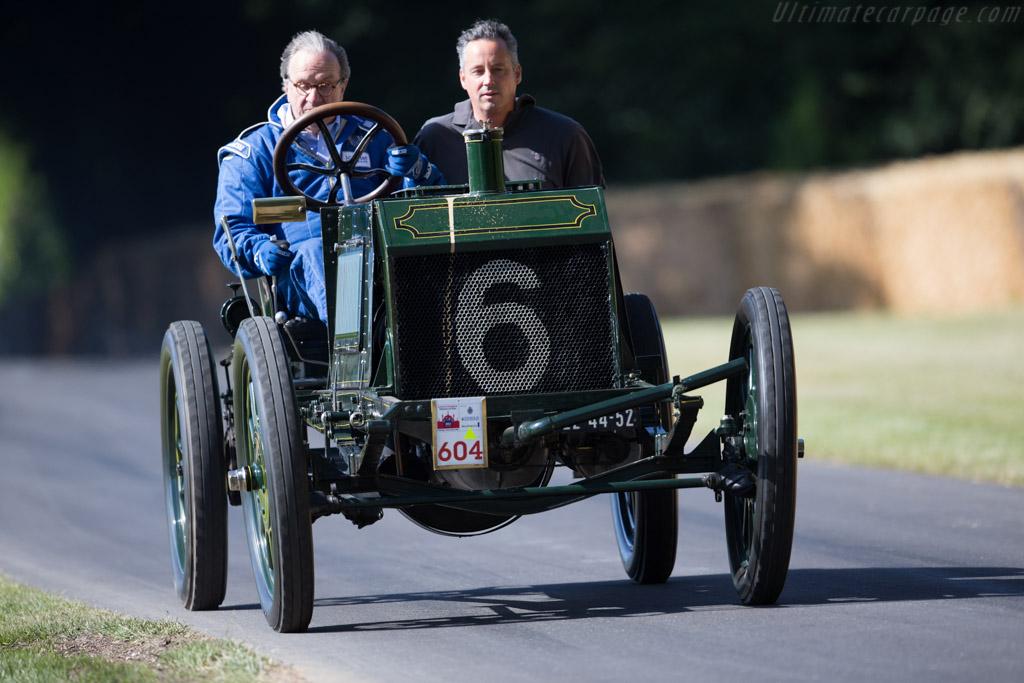 Napier Gordon Bennett 80hp  - Entrant: Louwman Museum - Driver: Evert Louwman  - 2015 Goodwood Festival of Speed