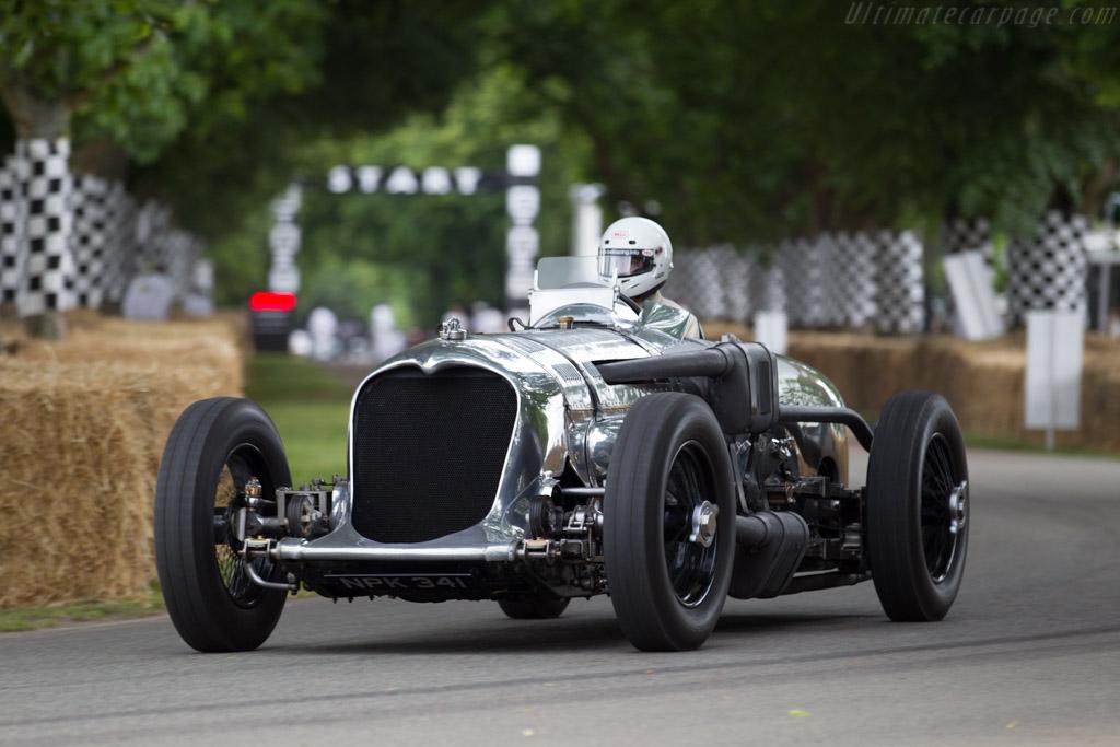 Napier Railton Special  - Entrant: Brooklands Museum - Driver: Allan Winn  - 2015 Goodwood Festival of Speed