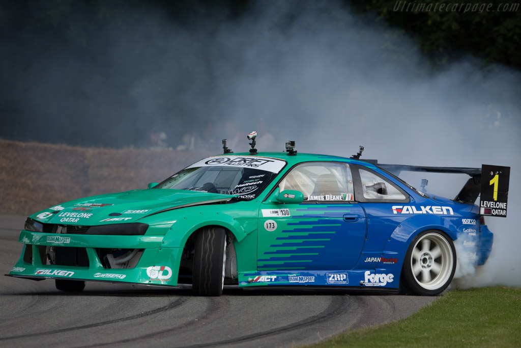 Festival Of Speed >> Nissan 200SX S14 - Driver: James Deane - 2015 Goodwood Festival of Speed