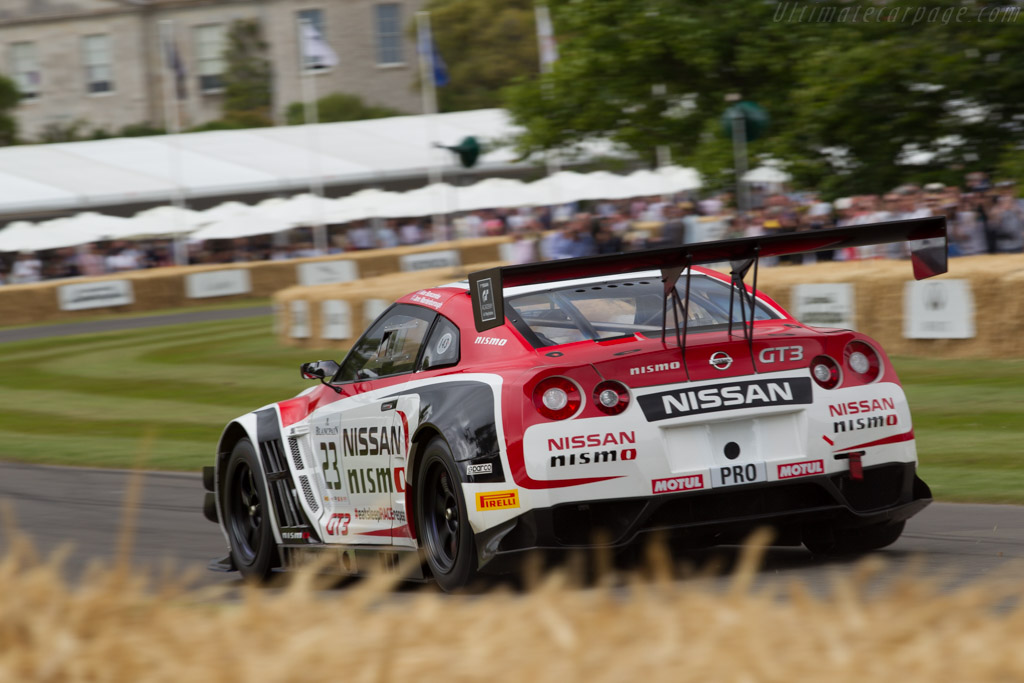 Nissan GT-R Nismo GT3 - Chassis: R35GTR-6A01 - Driver: Alex Buncombe  - 2015 Goodwood Festival of Speed