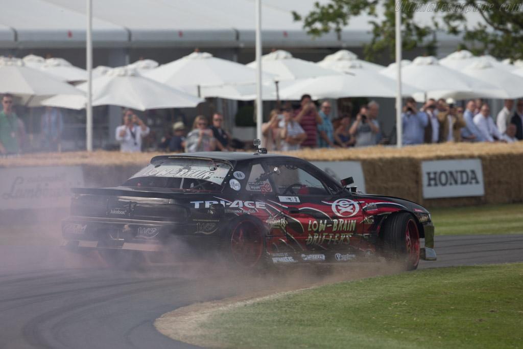 Nissan LBD PS13 V8  - Driver: Luke Fink  - 2015 Goodwood Festival of Speed