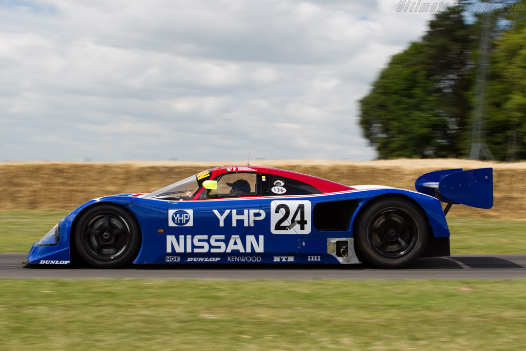 Nissan R90CK - Chassis: R90C/1 - Entrant: Kent Abrahamsson - Driver: David Brabham  - 2015 Goodwood Festival of Speed