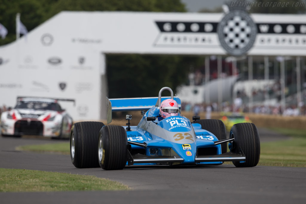 Osella FA1D Cosworth - Chassis: FA1D/03 - Entrant: Terry Sayles - Driver: Lorina McLaighlin  - 2015 Goodwood Festival of Speed