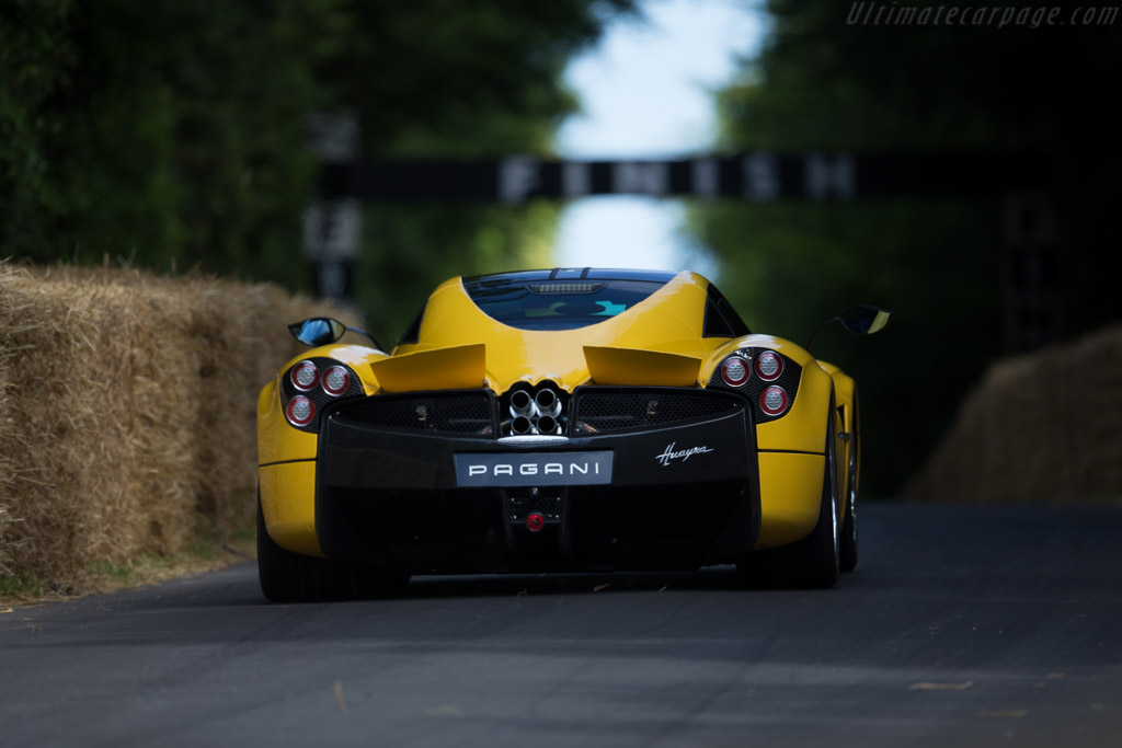 Pagani Huayra - Chassis: 76033   - 2015 Goodwood Festival of Speed